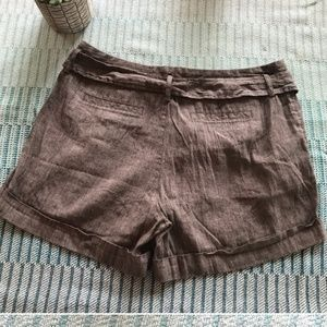 Banana Republic Shorts - Banana republic martin fit linen shorts